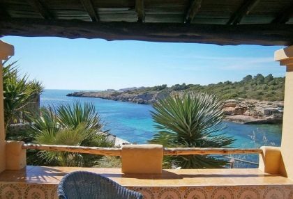 sea front villas for sale in Cala Corral Ibiza 13