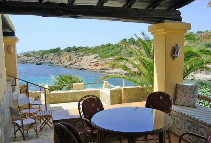 sea front villas for sale in Cala Corral Ibiza 1a