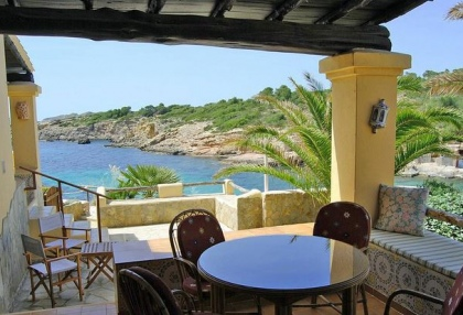 sea front villas for sale in Cala Corral Ibiza 2