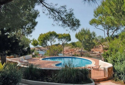 sea front villas for sale in Cala Corral Ibiza 5