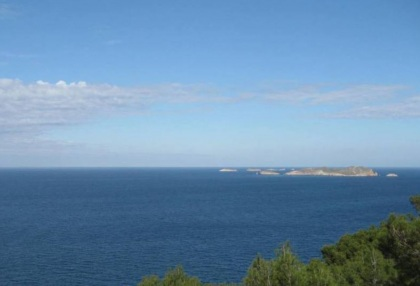 Land for sale Ibiza Sea view from plot top floor_0