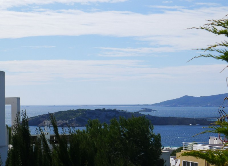 Semi-detached villa for sale Can Pep Simo, Ibiza with Sea Views