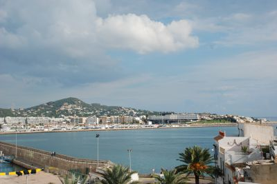 Triplex home in the heart of Ibiza Old Town with views over the Port