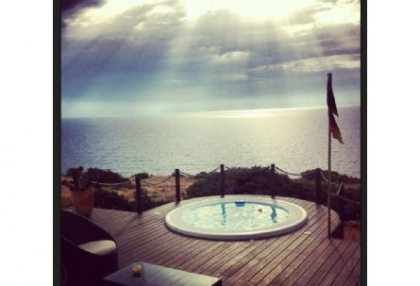 Sea view house for sale on Formentera at cala Envaster 9