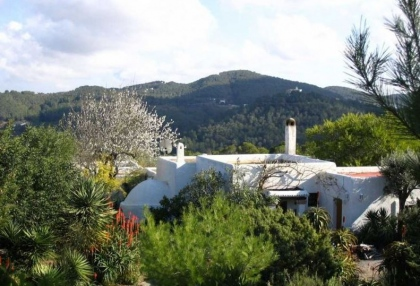 Ibiza country finca for sale with land near San Miguel 2