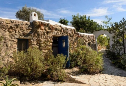 Ibiza country finca for sale with land near San Miguel 23