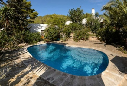 Ibiza country finca for sale with land near San Miguel 26