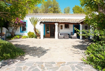 Ibiza traditional Ibicenco luxury finca with sea views 1