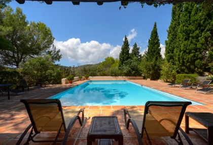 7 bedroom estate for sale west coast Ibiza with sea views 26