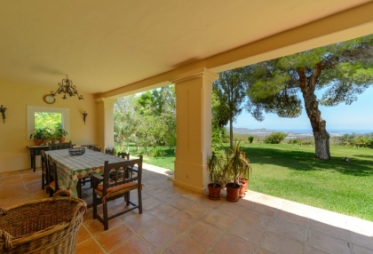 7 bedroom estate for sale west coast Ibiza with sea views 7