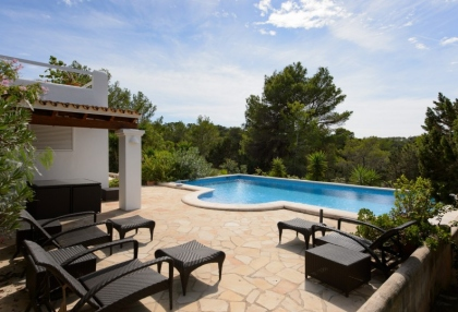 Modern 4 bedroom villa for sale near Cala Conta beach Ibiza 2