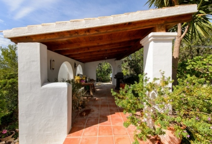 Modern 4 bedroom villa for sale near Cala Conta beach Ibiza 23