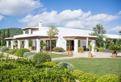 Modern 5 bedroom villa for sale Morna Valley San Carlos Ibiza 1