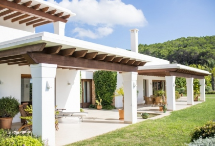 Modern 5 bedroom villa for sale Morna Valley San Carlos Ibiza 24