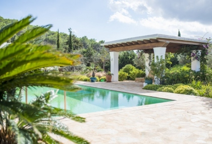 Modern 5 bedroom villa for sale Morna Valley San Carlos Ibiza 6