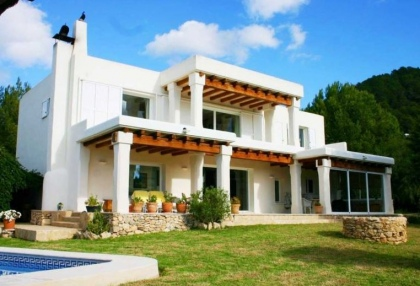 Impressive finca style property with panoramic views for sale Cala Llonga Santa Eularia Ibiza 2