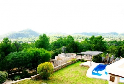 Impressive finca style property with panoramic views for sale Cala Llonga Santa Eularia Ibiza 3
