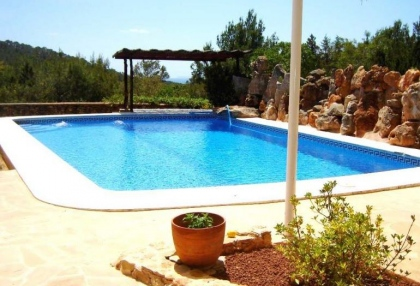 Impressive finca style property with panoramic views for sale Cala Llonga Santa Eularia Ibiza 6