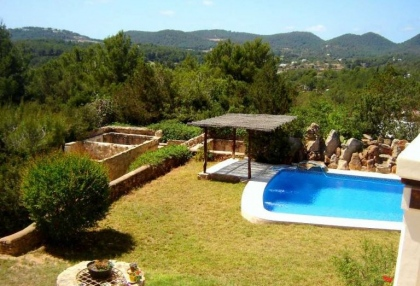 Impressive finca style property with panoramic views for sale Cala Llonga Santa Eularia Ibiza 7