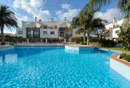 Townhouse for sale Santa Eularia Ibiza with views over town 1