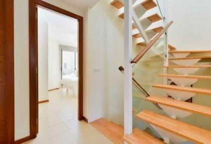 Townhouse for sale Santa Eularia Ibiza with views over town 11