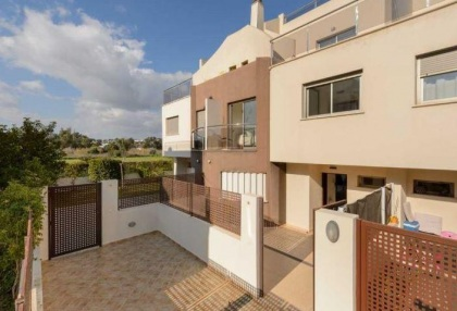 Townhouse for sale Santa Eularia Ibiza with views over town 17