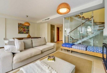 Townhouse for sale Santa Eularia Ibiza with views over town 4