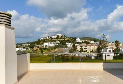 Townhouse for sale Santa Eularia Ibiza with views over town 7