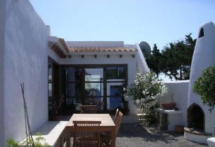 First line to sea frontline villa for sale Santa Eulalia Ibiza 3