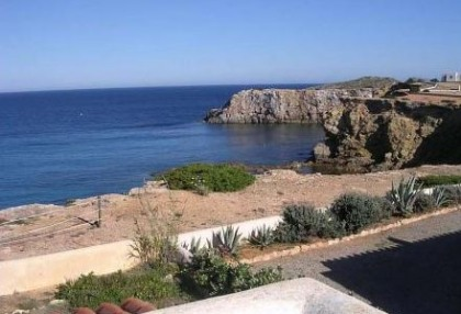 First line to sea frontline villa for sale Santa Eulalia Ibiza 4