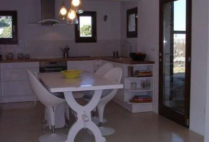 First line to sea frontline villa for sale Santa Eulalia Ibiza 8