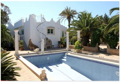 San Augustin house for sale Ibiza with valley views 1
