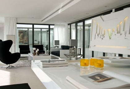 Luxury modern contemporary Ibiza property for sale sea views Vista Alegre 1