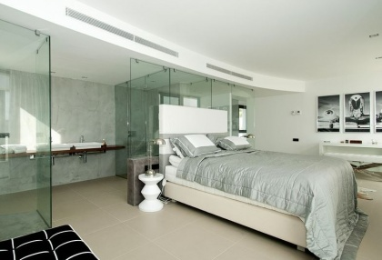 Luxury modern contemporary Ibiza property for sale sea views Vista Alegre 12