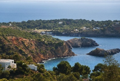 Luxury modern contemporary Ibiza property for sale sea views Vista Alegre 2