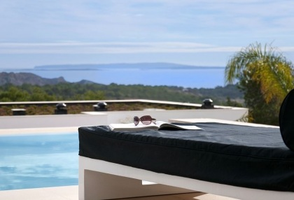 Luxury modern contemporary Ibiza property for sale sea views Vista Alegre 3