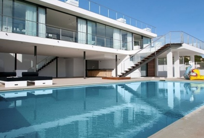Luxury modern contemporary Ibiza property for sale sea views Vista Alegre 4