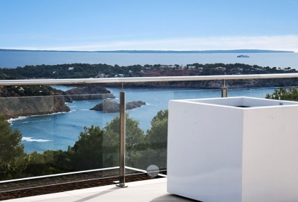 Luxury modern contemporary Ibiza property for sale sea views Vista Alegre 5