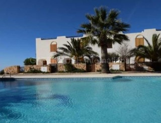 Two bedroom first line Townhouse for sale in Cala Tarida