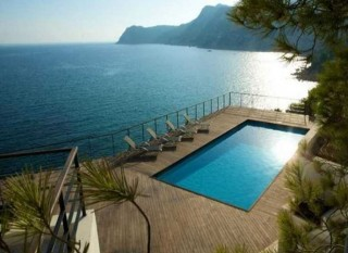 Impressive front line villa in Es Cubells with stunning views to Porroig