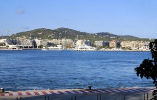 Ibiza town Dalt Vila studio apartment for sale with harbour views