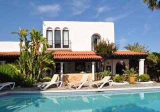 Ibiza business B & B villa for sale close to Ibiza town with 10 bedrooms