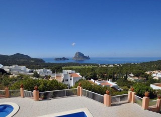 Beautiful west coast home with breathtaking views to Es Vedra