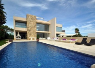 Modern villa with spectacular sea views for sale San Jose Ibiza close to beaches