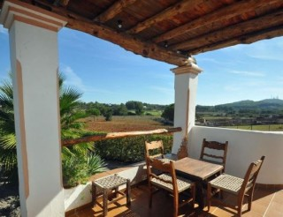 Country home for sale Santa Gertrudis Ibiza with great views - ideal holiday home