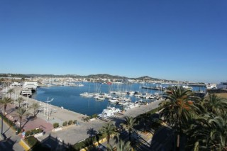 Luxury 2 bedroom period apartment in the heart of Ibiza Town