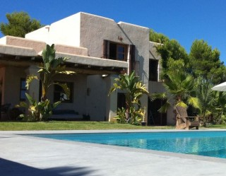 New build luxury finca for sale in Ibiza with stunning sea views