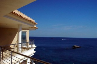Brand new modern apartment overlooking the sea Ibiza