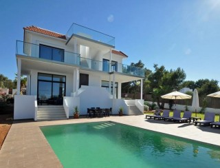 Newly built modern villa for sale San Jose with sunsets, sea views & country views