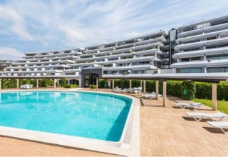 Frontline apartment in exclusive residence in Marina Botafoch,  Ibiza Town